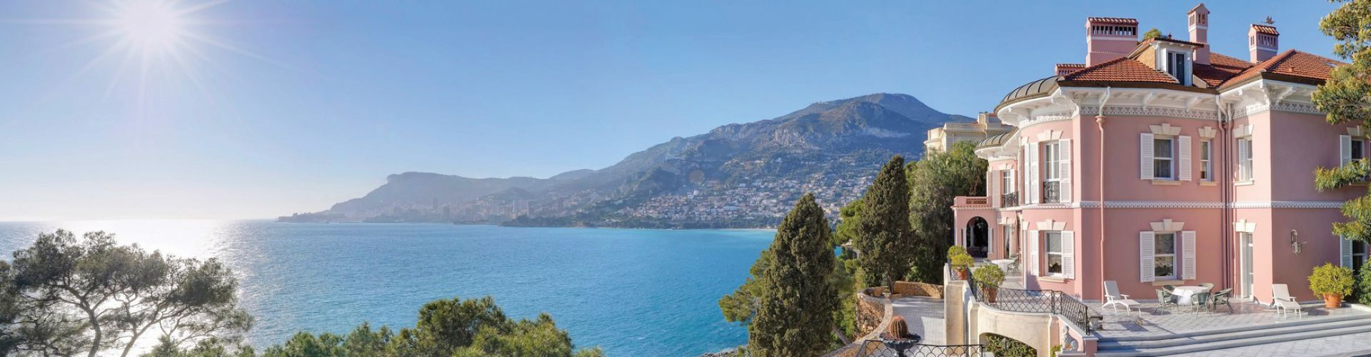 Panoramic sea views, Belle Epoque properties, French Riviera, Côte d'Azur Sotheby's International Realty