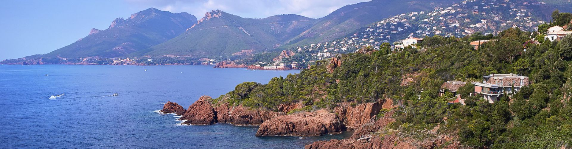 Les roches rouges de l'Esterel, un secteur authentique entre Cannes et Saint Raphael - Côte d'Azur Sotheby's International realty
